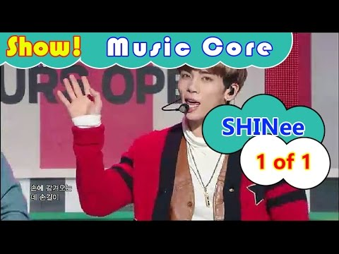 [HOT] SHINee - 1 of 1, 샤이니 - 원 오브 원 Show Music core 20161022