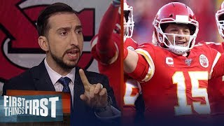 49ers need to slow down Chiefs' offense if they want a win — Nick Wright | NFL | FIRST THINGS FIRST