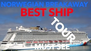 Norwegian Breakaway Review - Full Walkthrough Tour - Norwegian Cruise Lines