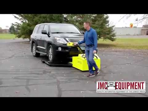 CarCaddyVP – Motorized Vehicle Puller