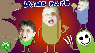 SILLY WAYS TO GO! iPhone Game App with FUNNY SKIT HobbyKidsGaming