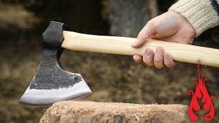 Blacksmithing - Forging a bearded axe