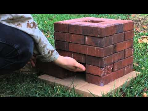 DIY Brick Rocket Stove - Smashpipe Science