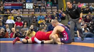 Olympic Wrestling Trials | Jake Varner vs Kyle Snyder, Match 3 | Full Match