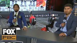 Shawn Porter, Mikey Garcia break down the Ruiz Jr. vs. Arreola press conference & fight | PBC ON FOX