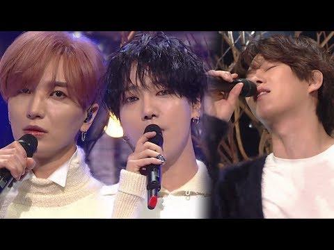 《Comeback Special》 SUPER JUNIOR(슈퍼주니어) - 비처럼 가지 마요 @인기가요 Inkigayo 20171112