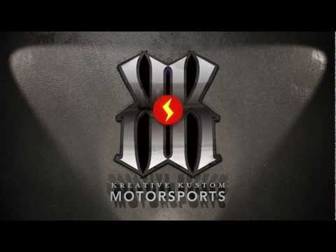 Kreative Kustoms Motorsports Logo Animation
