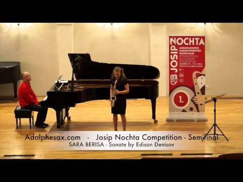 JOSIP NOCHTA COMPETITION SARA BERISA Sonate by Edison Denisov