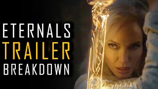 MARVEL ETERNALS TRAILER BREAKDOWN | REALSE DATE | CHARACTERS