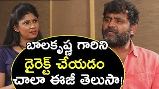Etv Prabhakar opens up directing Balakrishna, Chiranjeevi-..