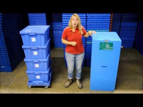 Eco Friendly Moving Boxes & Bins Toronto | Blue Bins