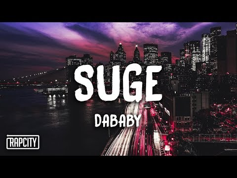DaBaby - Suge (Lyrics)