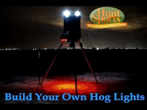 Wild Boar Hog Hunting Led Night Hunting Feeder Light Plan