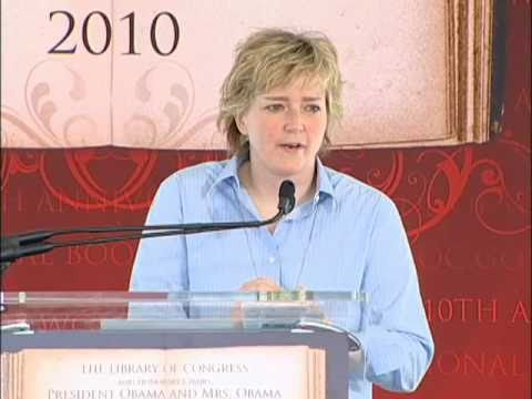 Karin Slaughter at the 2012 National Book Festival