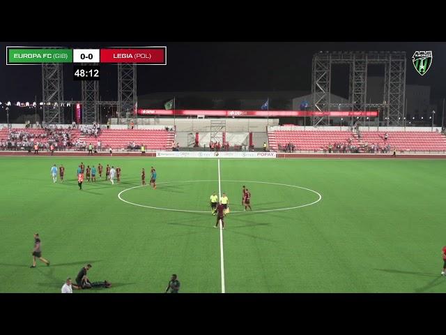 Transmisja meczu Europa FC - Legia Warszawa [NA ŻYWO]