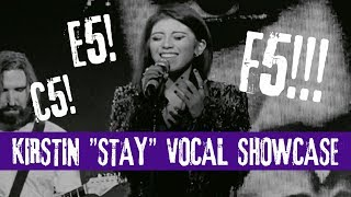 "Kirstin Maldonado singing Rihanna's ""Stay"" (Vocal Showcase G3-F5)"