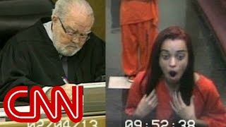 Judge flips out after getting flipped off