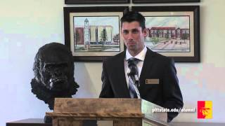 '2015 Dr. Kenneth K. Bateman Outstanding Alumni Reception (full program) - Pittsburg State University