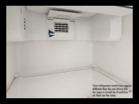 Fresh Flow Refrigerator Air Filter Youtube