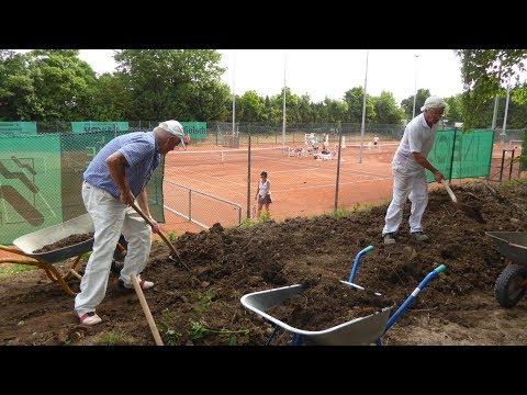 Boccia Im Pulheimer SC Tennisclub.