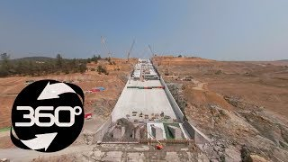Oroville Spillway 360 Flyover August 24, 2018