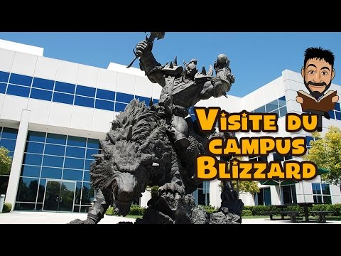 Visite du campus Blizzard à Irvine - YouTube
