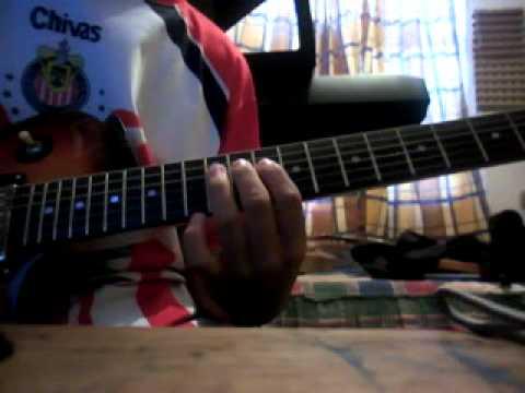 Camila - Besame (cover guitar riffs)