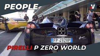 Le supercar più belle per il P Zero World di Dubai