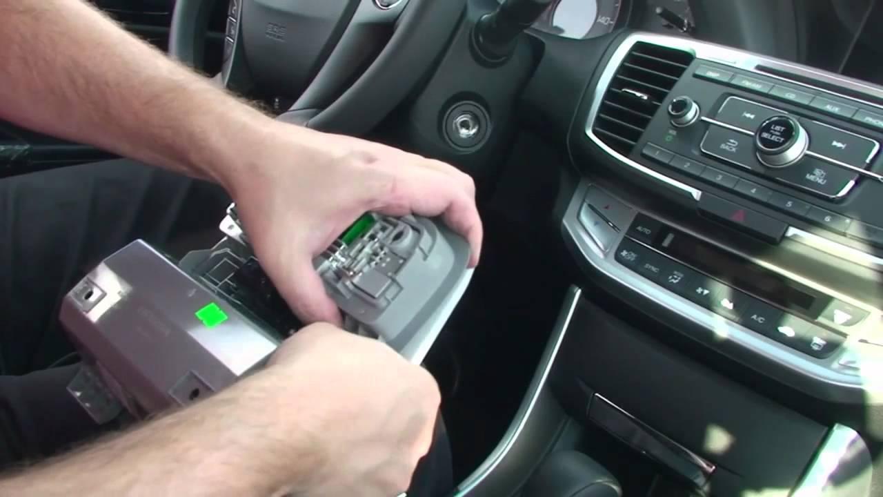 Honda Accord Sport >> Episode #240 - 9th Generation Honda Accord HomeLink Upgrade Installation - YouTube