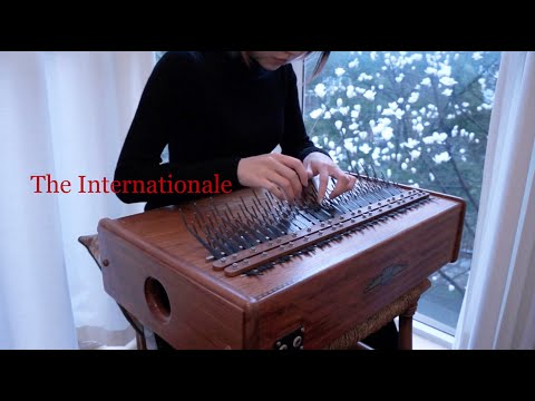 【array mbira】The Internationale 国际歌