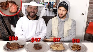 COMPARING CHEAP VS. EXPENSIVE STEAKS with JEFF WITTEK!!