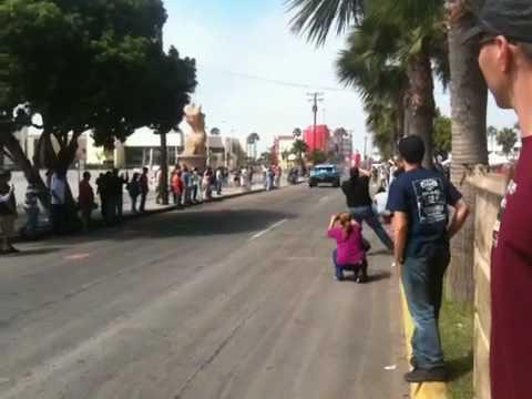 Velocity Off-Road Inc • Fiberwerx Trophy Truck leaves startline @ 2010 Baja 500