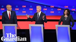 Joe Biden clashes with rivals in second Democratic debate