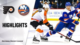 NHL Highlights | Flyers @ Islanders 2/11/20