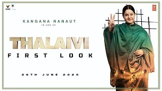 Thalaivi 2020 (First Look) – Kangana Ranaut