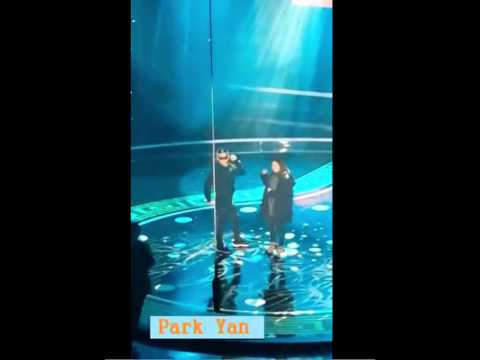 140214 [첸, 리인 리허설] Chen, Zhang Li Yin Breathe rehearsal ft.TAO [look at desc]