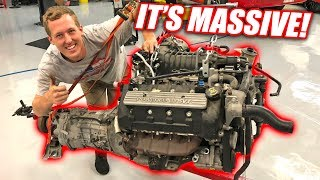 The Supercharged GT500 Drivetrain is Out! IT'S HUGE lol!