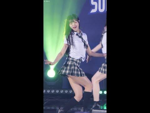 180408 오마이걸 (OH MY GIRL) 비밀정원 (Secret Garden) [유아] YooA 직캠 Fancam (화성여자배구 올스타 슈퍼매치) by Mera