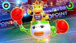 Mario Tennis Aces - Tournament As Bowser Jr.
