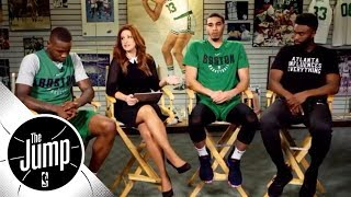 [FULL] Jayson Tatum, Jaylen Brown, Terry Rozier on Celtics overcoming adversity | The Jump | ESPN