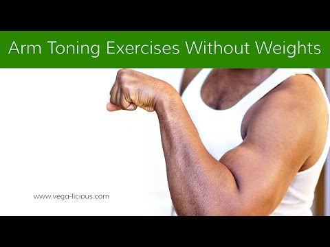 arm toning exercises without weights for women and men