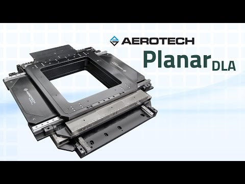 PlanarDLA Open Frame, XY, Direct-Drive, Mechanical-Bearing Stage