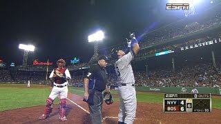 A-Rod hit by Dempster, answers with big game