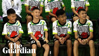 Thai football team on their ordeal and rescue: 'I was really afraid'