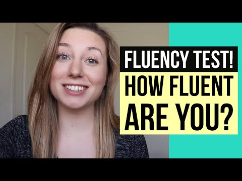 YOU KNOW YOU'RE FLUENT IN ENGLISH WHEN... (fluency quiz!  test your English!!)