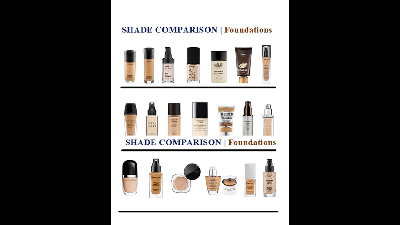 Foundations My Shade Matches And Swatches Youtube