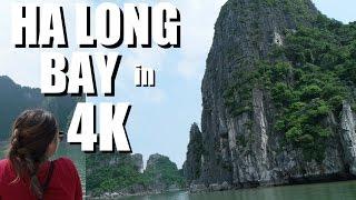 Ha Long Bay Today in 4K. NORTH VIETNAM Travelogue