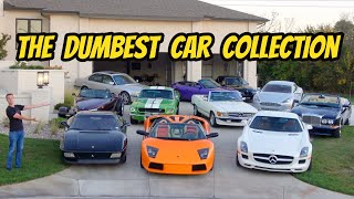 A Tour of the Dumbest Multi-Million Dollar Car Collection In the World!
