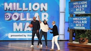Kobe Bryant Surprises a Fan with an Assist to Win Big in Million Dollar May