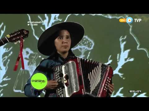 La Pilarcita en la Fiesta Nacional Del Chamamé 2016
